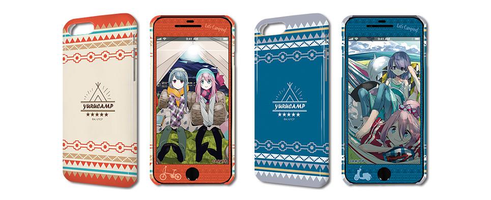 ゆるキャン△ デザジャケット(iPhone7Plus/8Plus)