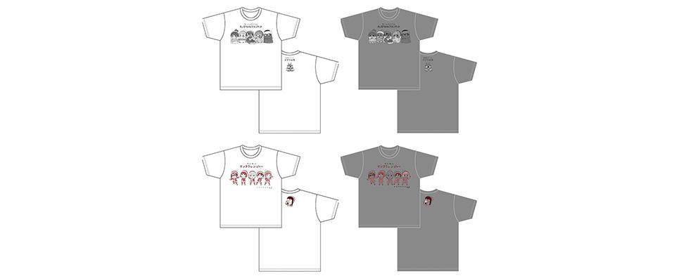 ゆるキャン△ 場面写デフォルメTシャツ第2弾(全2種)
