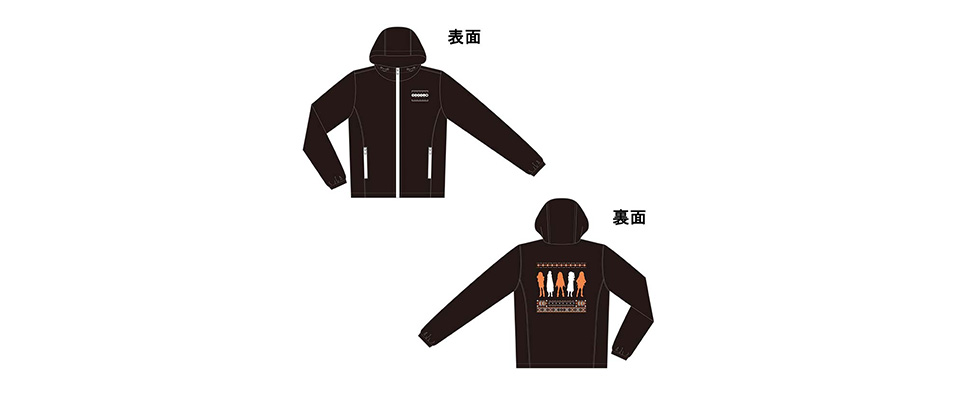 ゆるキャン△ ジップジャケット