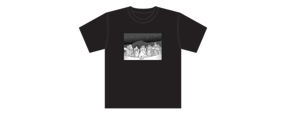 ゆるキャン△ Tシャツ(「本栖高校学園祭 秘密結社ブランケット音楽祭」ver)