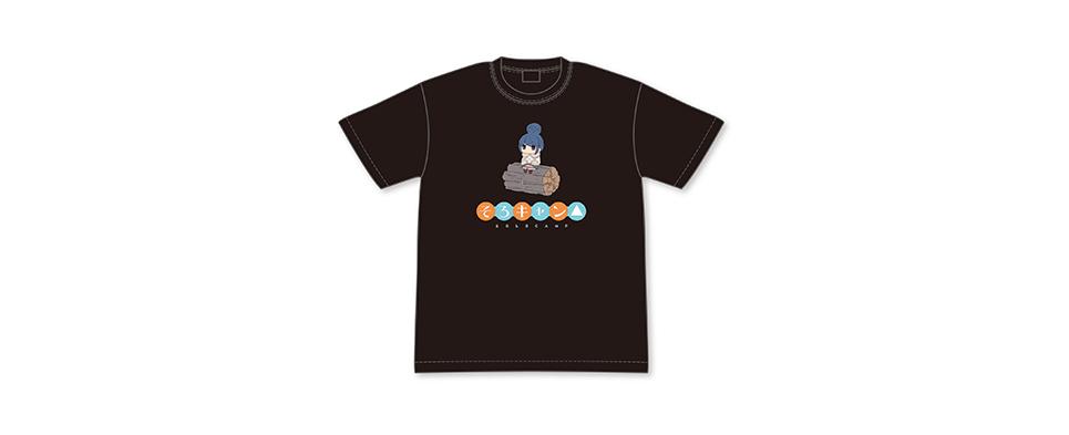 ゆるキャン△ リンのそろキャン△Tシャツ