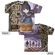志摩リン 両面フルグラフィックTシャツ