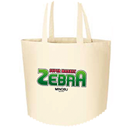 ゼブラお買い物トートバックL