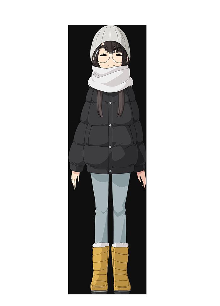 「ゆるキャン△SEASON2」キャラクター設定(画像・動画あり) 鳥羽 美波